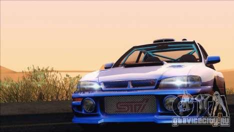 Subaru Impreza 22B STi 1998 для GTA San Andreas вид сверху