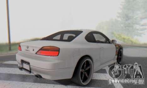 Nissan Silvia S15 Metal Style для GTA San Andreas вид сбоку