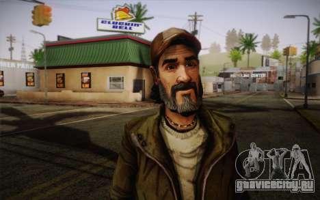Kenny из The Walking Dead для GTA San Andreas третий скриншот