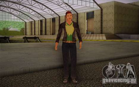 Woman Autoracer from FlatOut v3 для GTA San Andreas