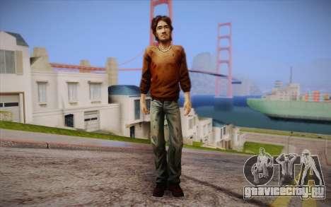 Luke из The Walking Dead для GTA San Andreas