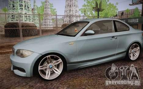 BMW 135i Limited Edition для GTA San Andreas вид сбоку