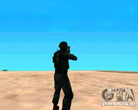 Jackhammer из Max Payne для GTA San Andreas шестой скриншот