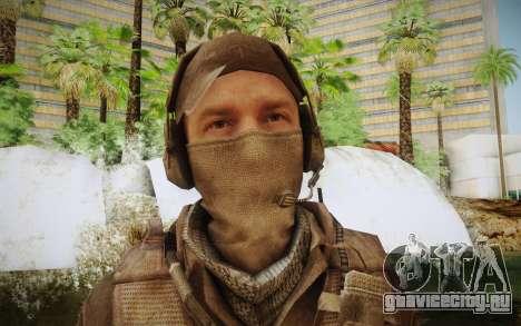 Наёмник в броне (COD MW3) для GTA San Andreas третий скриншот