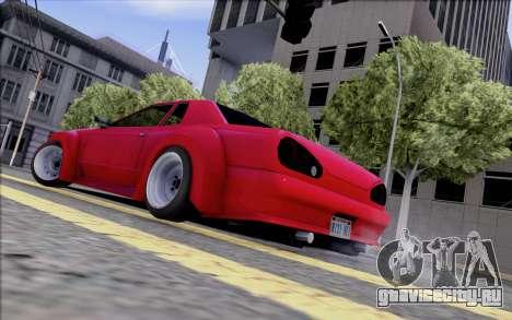 Elegy Rocket Bunny для GTA San Andreas вид сзади слева
