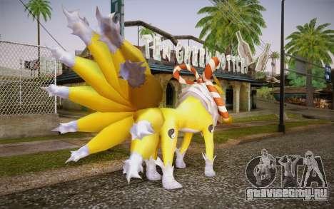 Kyubimon для GTA San Andreas второй скриншот