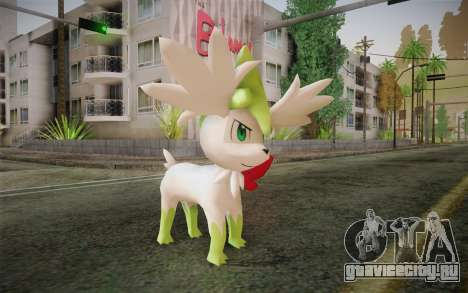 Shaymin Sky from Pokemon для GTA San Andreas