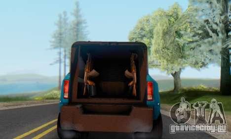 Dodge Ram 3500 Super Reforzada для GTA San Andreas вид сзади слева