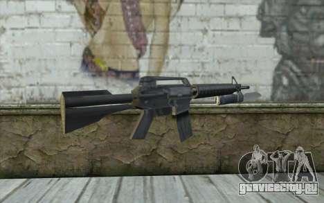 M4A1 со штыком для GTA San Andreas второй скриншот