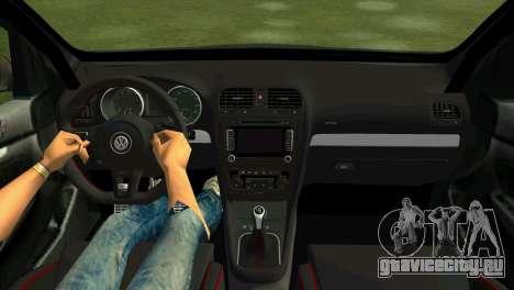 Volkswagen Golf GTI W12 для GTA Vice City вид справа