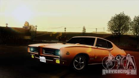 Pontiac GTO The Judge Hardtop Coupe 1969 для GTA San Andreas