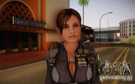 Jill Valentine from Resident Evil: Revelations для GTA San Andreas третий скриншот