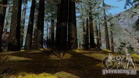 Густой лес v2 для GTA San Andreas шестой скриншот