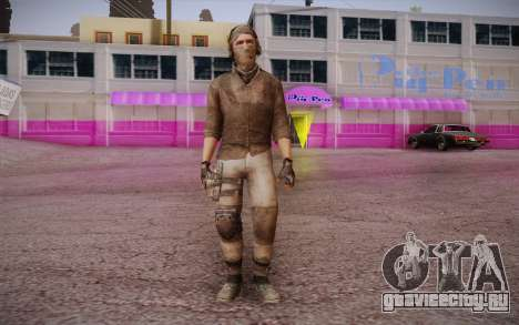 Наёмник без брони (COD MW3) для GTA San Andreas