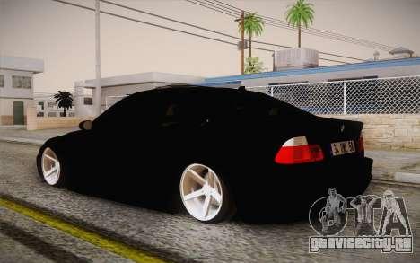 BMW 318 Ci 34 UNL 58 для GTA San Andreas вид слева