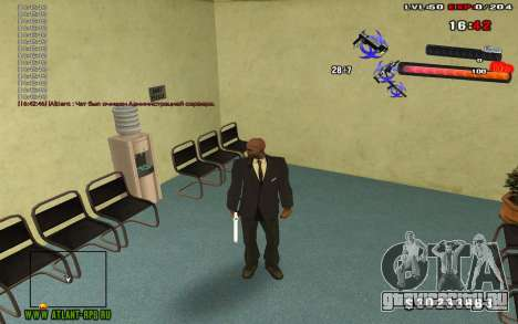 C-HUD by thereobull для GTA San Andreas