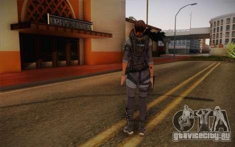 Jill Valentine from Resident Evil: Revelations для GTA San Andreas второй скриншот