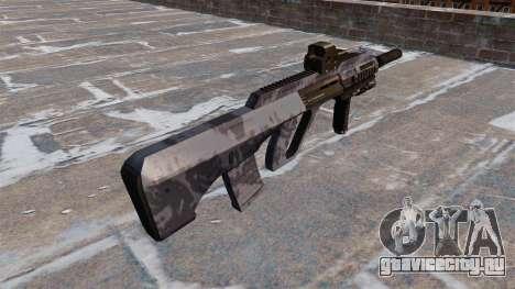 Автомат Steyr AUG-A3 Blue Camo для GTA 4 второй скриншот