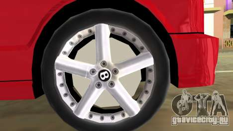Bentley Arnage T 2005 для GTA Vice City вид сзади слева
