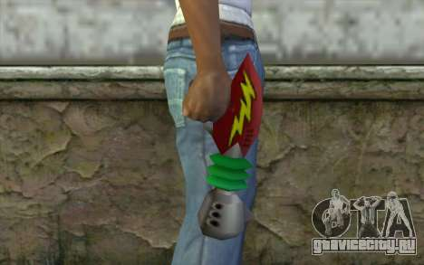 Cortexs Ray Gun для GTA San Andreas третий скриншот
