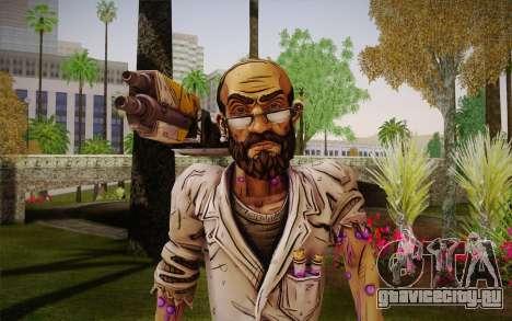 Professor Nakayama из Borderlands 2 для GTA San Andreas третий скриншот