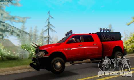 Dodge Ram 3500 Super Reforzada для GTA San Andreas вид слева