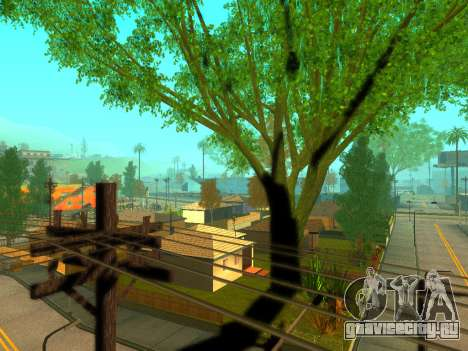 ENBSeries Realistic Beta v1.0 для GTA San Andreas четвёртый скриншот