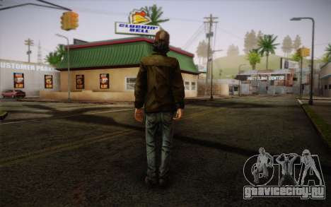 Kenny из The Walking Dead для GTA San Andreas второй скриншот