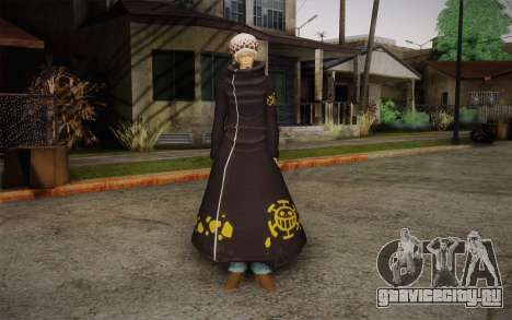 One Piece Trafalgar Law для GTA San Andreas