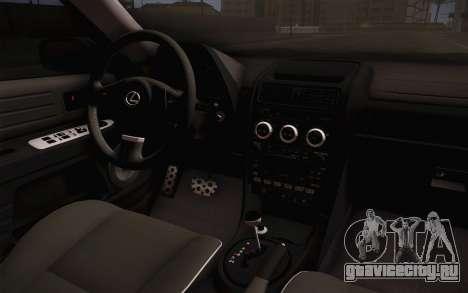 Lexus IS300 2003 для GTA San Andreas вид справа