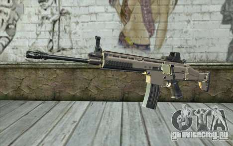 SCAR-L Custom для GTA San Andreas