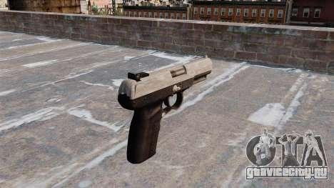 Пистолет FN Five-seveN ACU Camo для GTA 4 второй скриншот