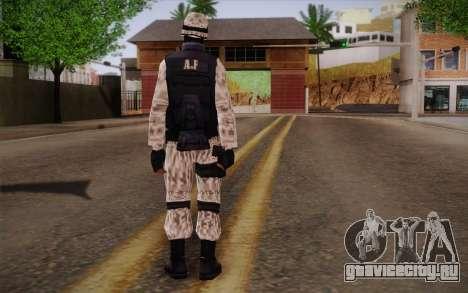 SWAT Snow Camo для GTA San Andreas второй скриншот