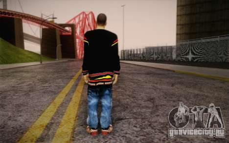 Sami Woles Skin для GTA San Andreas второй скриншот