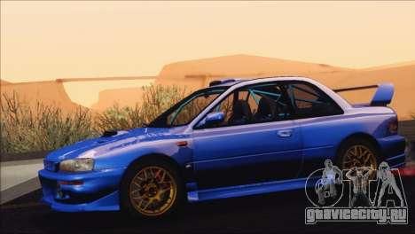 Subaru Impreza 22B STi 1998 для GTA San Andreas вид сбоку