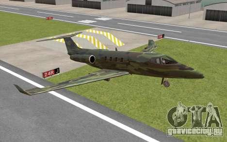 Camouflage Shamal для GTA San Andreas