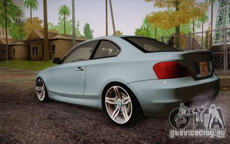 BMW 135i Limited Edition для GTA San Andreas вид слева