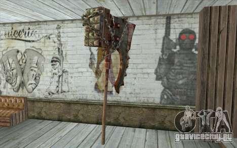 Топор палача (Resident Evil 5) для GTA San Andreas второй скриншот