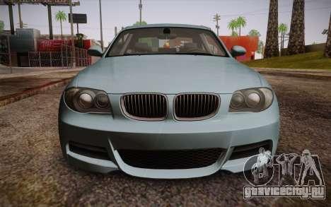 BMW 135i Limited Edition для GTA San Andreas вид справа