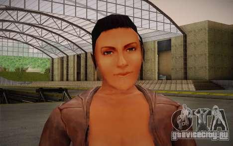 Woman Autoracer from FlatOut v4 для GTA San Andreas третий скриншот
