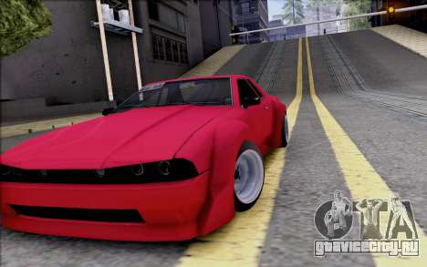 Elegy Rocket Bunny для GTA San Andreas вид изнутри