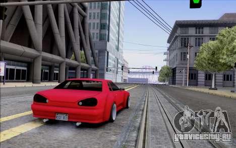 Elegy Rocket Bunny для GTA San Andreas вид справа