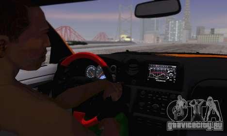 Nissan GTR Heavy Fire для GTA San Andreas вид сбоку