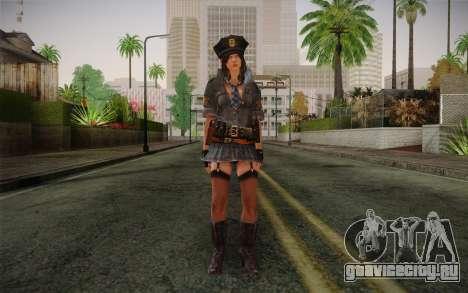 Helena Harper Police Version для GTA San Andreas