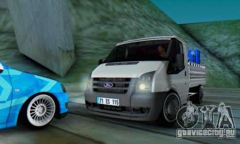 Ford Transit Pikap для GTA San Andreas