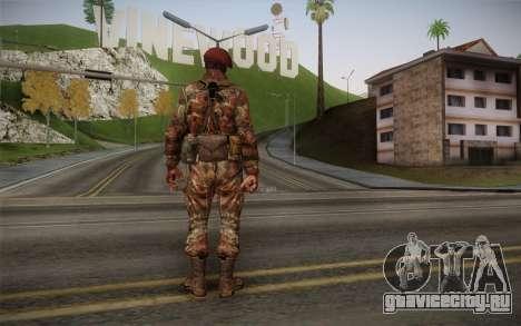 U.S. Soldier v2 для GTA San Andreas второй скриншот