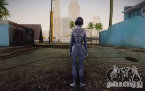 Cortana from Halo 4 для GTA San Andreas второй скриншот