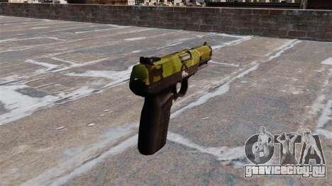 Пистолет FN Five-seveN Woodland для GTA 4 второй скриншот