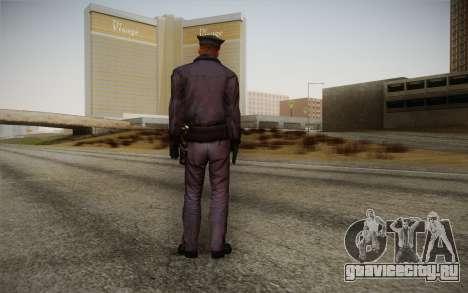 Policeman from Alone in the Dark 5 для GTA San Andreas второй скриншот