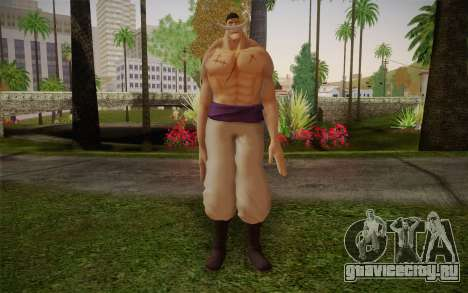 One Piece Whitebeard Edward Newgate для GTA San Andreas